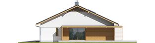 Projekt domu Iwo II G2 ENERGO PLUS - elewacja prawa