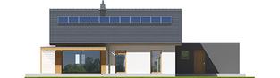 Projekt domu Iwo II G2 ENERGO PLUS - elewacja tylna
