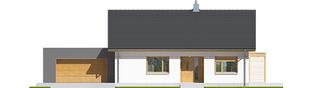 Projekt domu Iwo II G2 ENERGO PLUS - elewacja frontowa