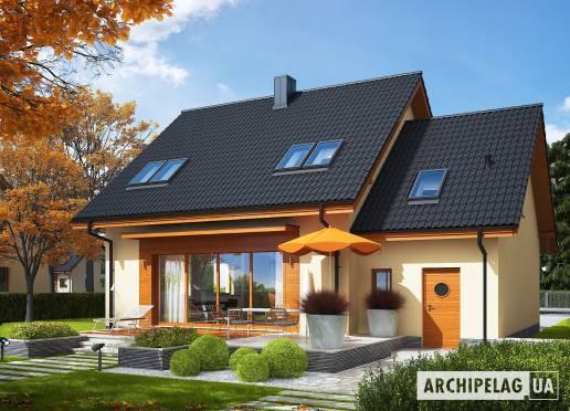 Проект будинку - Е3 (Г1, Економ, версія А)