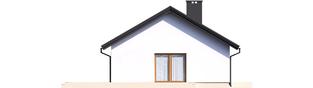 Projekt domu Kornel V ENERGO - elewacja lewa