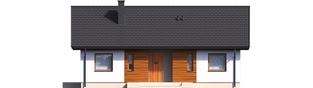 Projekt domu Kornel V ENERGO - elewacja frontowa