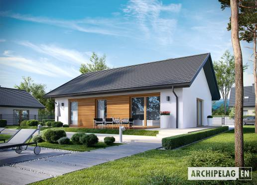 House plan - Kornel  V ENERGO