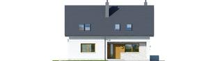 Projekt domu Logan II - elewacja frontowa