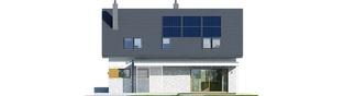 Projekt domu Logan II - elewacja tylna