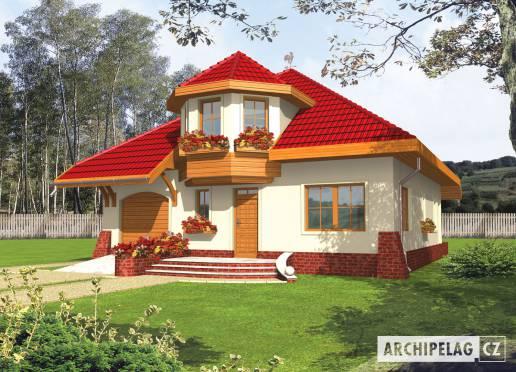 Projekt rodinného domu - Rozína