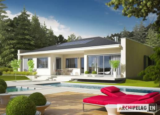 House plan - Marlon III G1 (white)