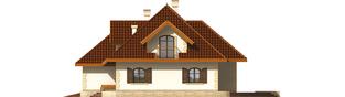 Projekt domu Marysia III G2 - elewacja prawa