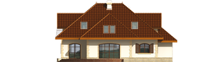 Projekt domu Marysia III G2 - elewacja tylna