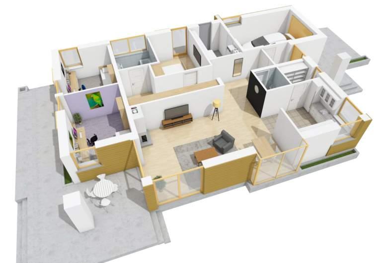 Projekt domu Glen II G1 Leca® DOM -