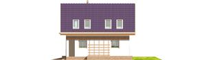 Projekt domu Madzia G1 - elewacja prawa
