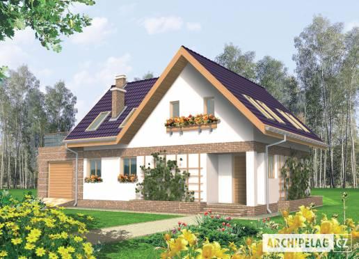 Projekt rodinného domu - Madlen