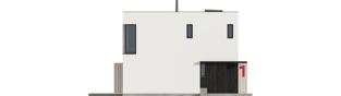 Projekt domu EX 2 soft - elewacja frontowa