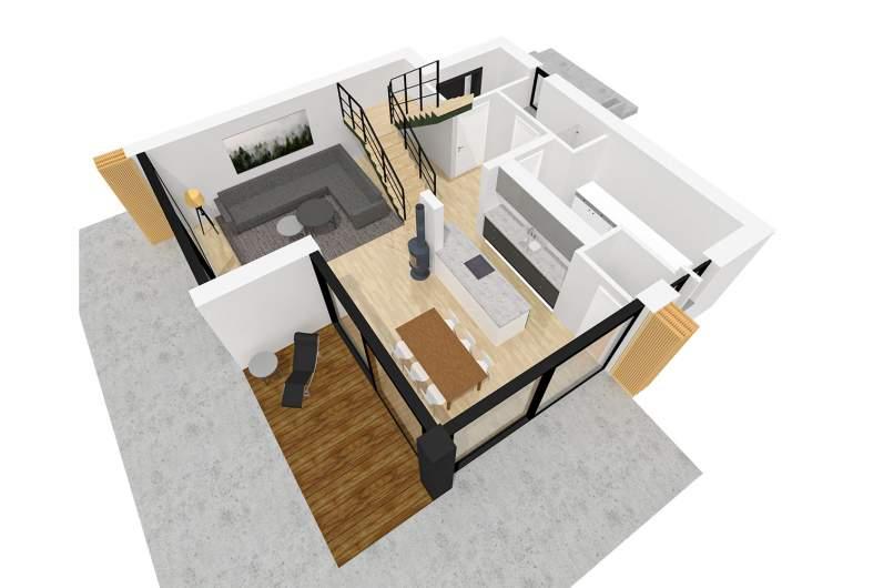Projekt domu EX 2 soft -