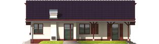 Projekt domu Romina G1 - elewacja prawa
