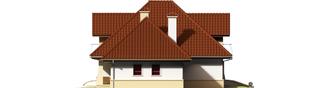 Projekt domu Henry G2 - elewacja prawa