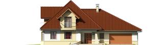 Projekt domu Henry G2 - elewacja frontowa