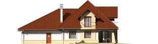 Projekt domu Henry G2 - elewacja tylna