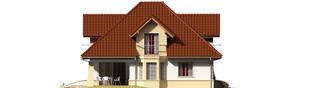 Projekt domu Henry G2 - elewacja lewa