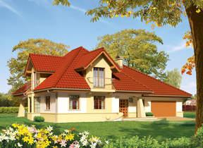 Проекти будинків : З житловою мансардою