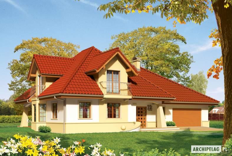 Projekt domu Henry G2 - wizualizacja frontowa