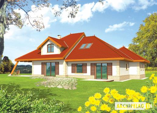 House plan - Diuna II G2