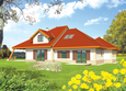 Projekt domu: Diuna (dekoratīvais jumta logs)