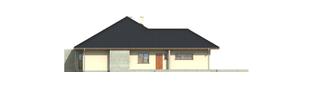 Projekt domu Megan G2 - elewacja lewa