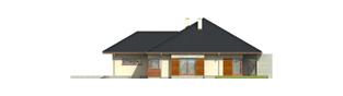 Projekt domu Megan G2 - elewacja prawa