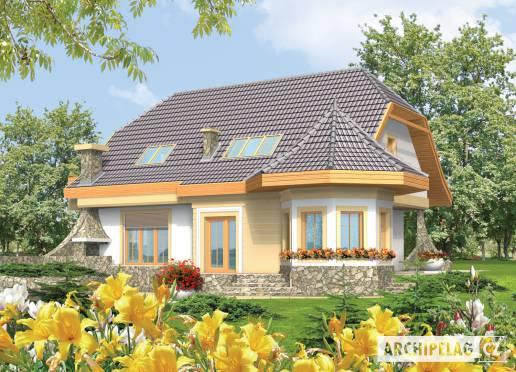 Projekt rodinného domu - Zlata