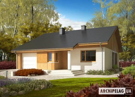 Проект будинку - Рафаель (Г1, 30°)