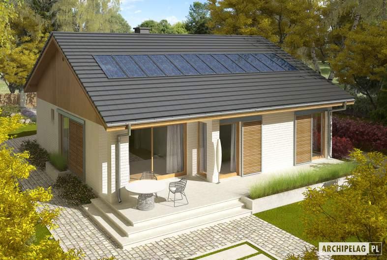 Projekt domu Rafael G1 (30 stopni) - widok z góry