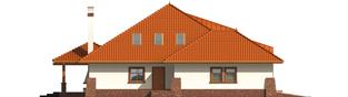 Projekt domu Seweryna G2 - elewacja lewa
