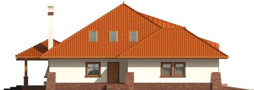 Severina G2 - Projekty domów ARCHIPELAG - Seweryna G2 - elewacja lewa