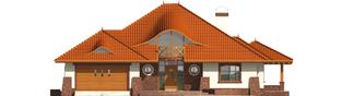 Projekt domu Seweryna G2 - elewacja frontowa