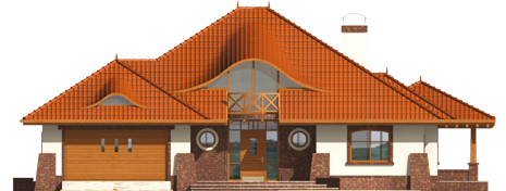 Severina G2 - Projekty domów ARCHIPELAG - Seweryna G2 - elewacja frontowa