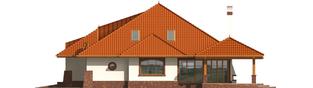 Projekt domu Seweryna G2 - elewacja prawa