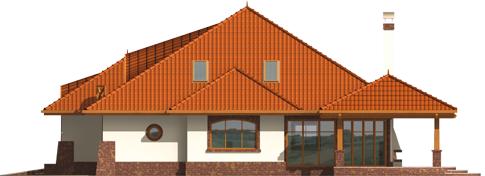 Severina G2 - Projekty domów ARCHIPELAG - Seweryna G2 - elewacja prawa