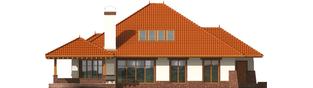 Projekt domu Seweryna G2 - elewacja tylna