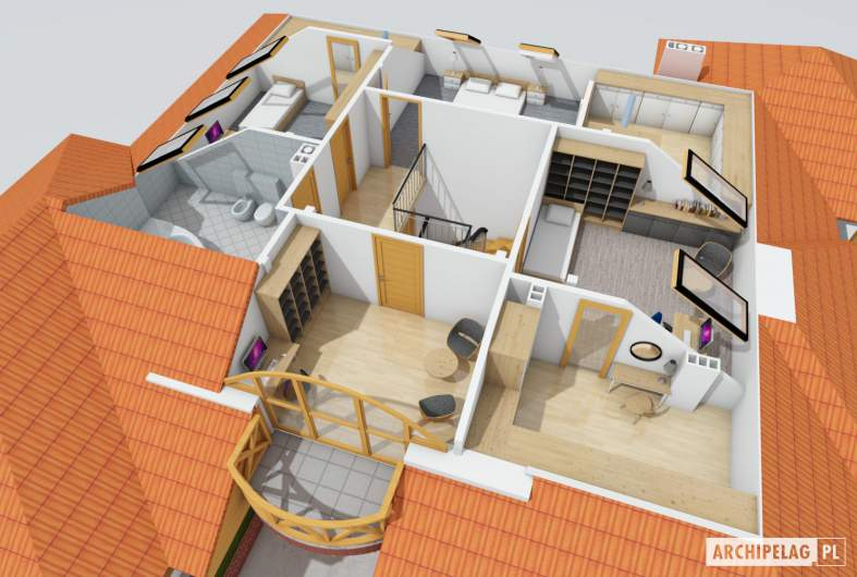 Projekt domu Seweryna G2 -