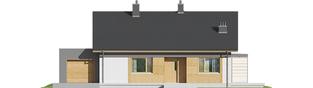 Projekt domu Iwo G1 - elewacja frontowa