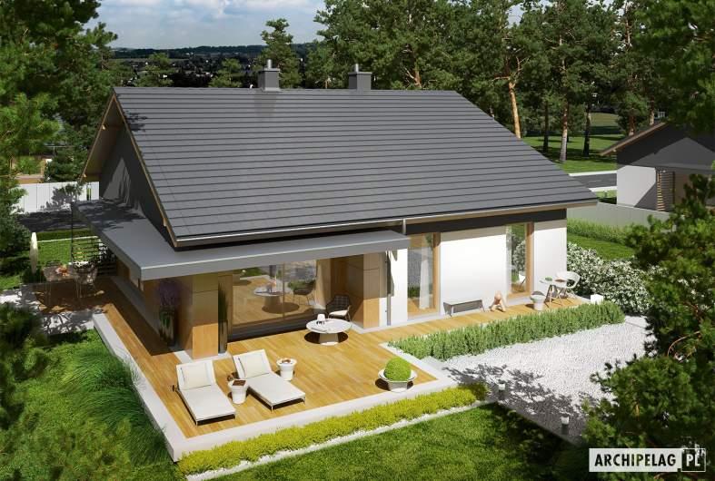 Projekt domu Iwo G1 - widok z góry