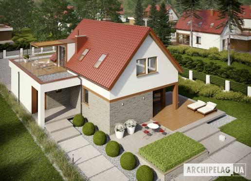 Проект будинку - Е13 ІІІ (Г1, Економ) *
