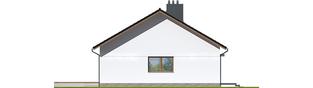 Projekt domu Swen II - elewacja lewa