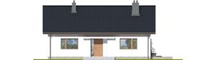 Projekt domu Swen II - elewacja frontowa