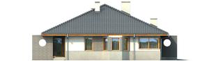 Projekt domu Florenc III G1 - elewacja lewa