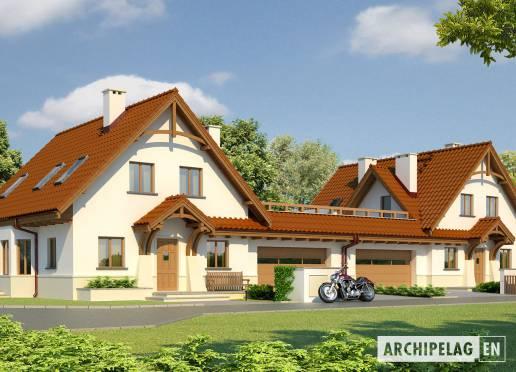 House plan - Karoline G2 x2