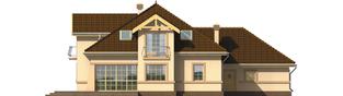 Projekt domu Artemida G2 - elewacja tylna