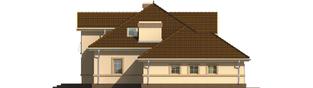 Projekt domu Artemida G2 - elewacja lewa