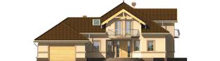 Projekt domu Artemida G2 - elewacja frontowa